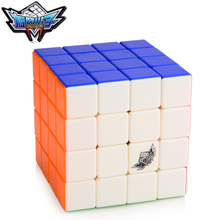 Brand New Cyclone Boys G4 4x4x4 60mm Speed Magic Cube Puzzle Cubes Kids Educational Toys For Children Professional cubo magico(China)
