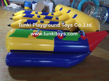 Hot sale inflatable sports boat 3-passengers inflatable boat inflatable banana boat for sale