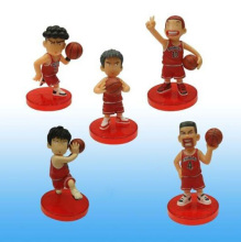 5Pcs/set Cool PVC Slamdunk Shohoku Anzai Hanamichi Sakuragi Takenori Akagi Kaede Action Figure Toys Slam Dunk Figures Kids Toy