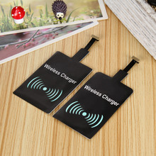 OUDNEAS Universal Qi Wireless Charger Receiver Adapter Receptor Receiver Pad Coil Android Phone Micro USB mobile Phone Charger