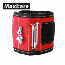 Strong Magnetic Wrist Support Screw Holder Wristband Band Tool Bracelet Belt Support Chuck Sports Protection 13.8''  Kit