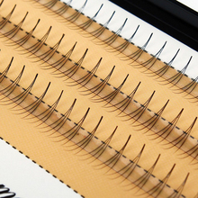 1 Set 6/8/9/10/11/12/14mm False Eyelashes 0.07 C Curl 3D Individual Mink Eyelashes Extension Soft Black Fake False Eye Lashes