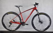 "2018 factory price 29er full mountain bike complete mtb bike 30 speed shimano M610 Toray t700 15""/17""/19"" carbon mtb bike(China)"