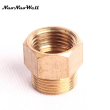 "Buy 2pcs NuoNuoWell 1/2"" Female Thread M22 Brass Connector Garden Irrigation Watering Water Gun Adapter Washing Car Fittings for $3.13 in AliExpress store"