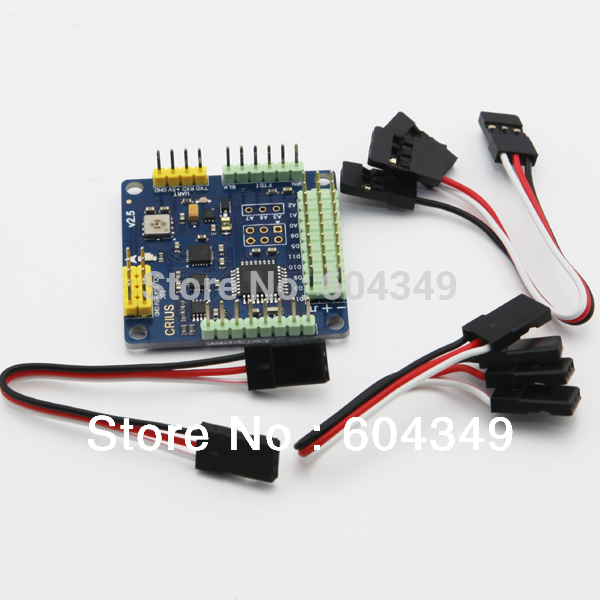 CRIUS MultiWii Standard Edition Flight Controller MWC SE v2.6 Supported 2-axis G<br><br>Aliexpress