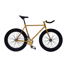Buy Fixie Bike DIY 52cm 700C 46T Track Bicycle Steel Frame Track Bicicleta Fixed Gear Bike Fixie Bicycle Fixed Gear City Steel Bike for $255.00 in AliExpress store