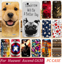 Painted Cases For Huawei Ascend G630 Phone Case Sexy Girl Cool Captain Totem Eiffel Tower Skull Rose Dog Cat Phone Cover Shell