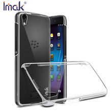 IMAK Crystal Case II Ultra Thin Transparent PC Hard Case For BlackBerry DTEK50 5.2 inch Back Cover with Package