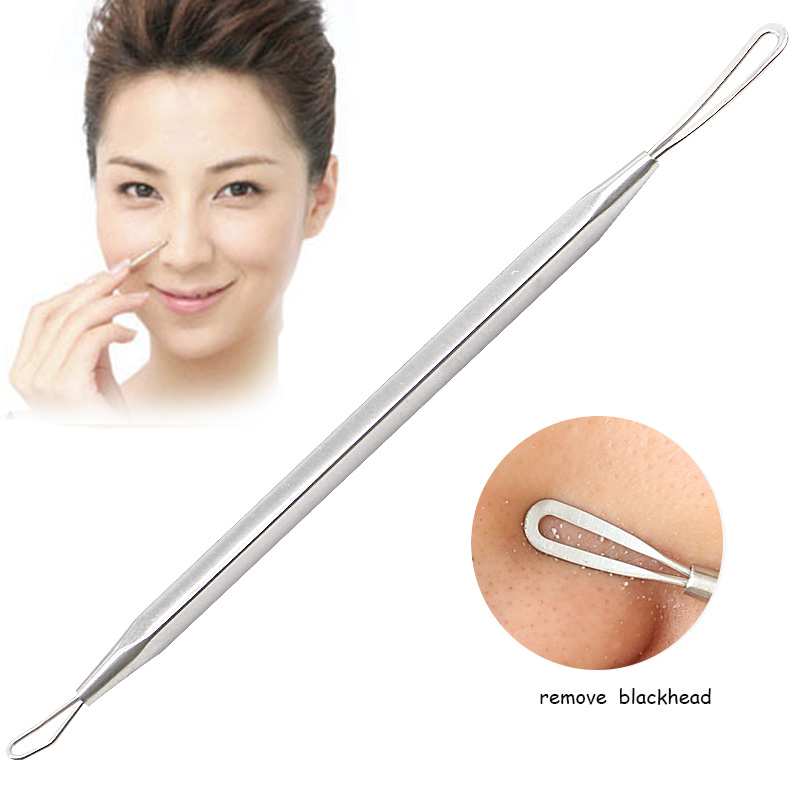 1pc Face Exfoliator Comedone Pimple Remover Tool Blackhead And Pimple Remover Acne Extractor Needle Skin Cleaner Face Care Tools 9