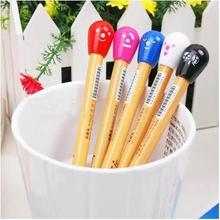 Wholesale Lovely Color Matches Head Ballpoint Pen / Smile Face Ball-point Office School Supplier 30pcs/lot Arc019