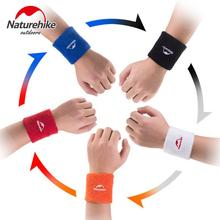 Naturehike Sports Bracers Men's women's cotton breathable wrist support basketball running gym sports wristband wraps 2pcs/pair