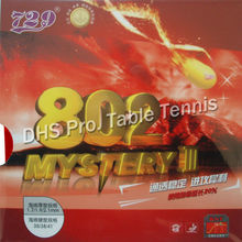 RITC 729 Friendship 802 Mystery III short pips-out table tennis / pingpong rubber with sponge