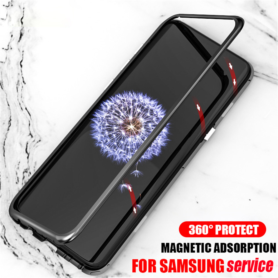 Magnetic Flip Case for Samsung S8 S9 Plus 01