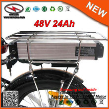 E Bike Battery Rack 48V  24AH Lithium Ion Li-Ion  Electric Bike Battery 48V Samsung Battery Pack  for 1000W Giant Bicycle
