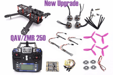 ZMR250 250 250mm Carbon Fiber Frame Kit FS-I6 2204 motor CC3D Little Bee 20A Pro RC for QAV250 For Quadcopter Racing Drone +