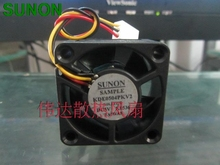 SUNON KDE0504PKV2 4020 DC 5V 40mm server inverter axial cooling fans blower industrial case computer fan(China)