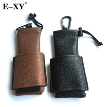 E-XY E Cigarettes Portable Bag PU Leather Ego Medium Bags eGo Box Case Pouch with Hook for Mechanical Mod Vapor Box Atomizer