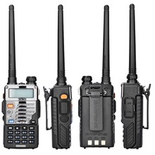 2pcs/lot Baofeng UV-5RE Walkie Talkie UV-5R Upgraded Version UHF VHF Dual CB Radio VOX FM Transceiver for Hunting Radio