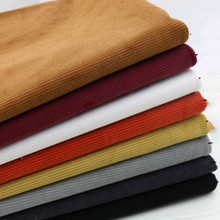 New arrival 50x150cm thickened cotton corduroy stretch  fabric DIY sewing pants shirt making cotton fabric