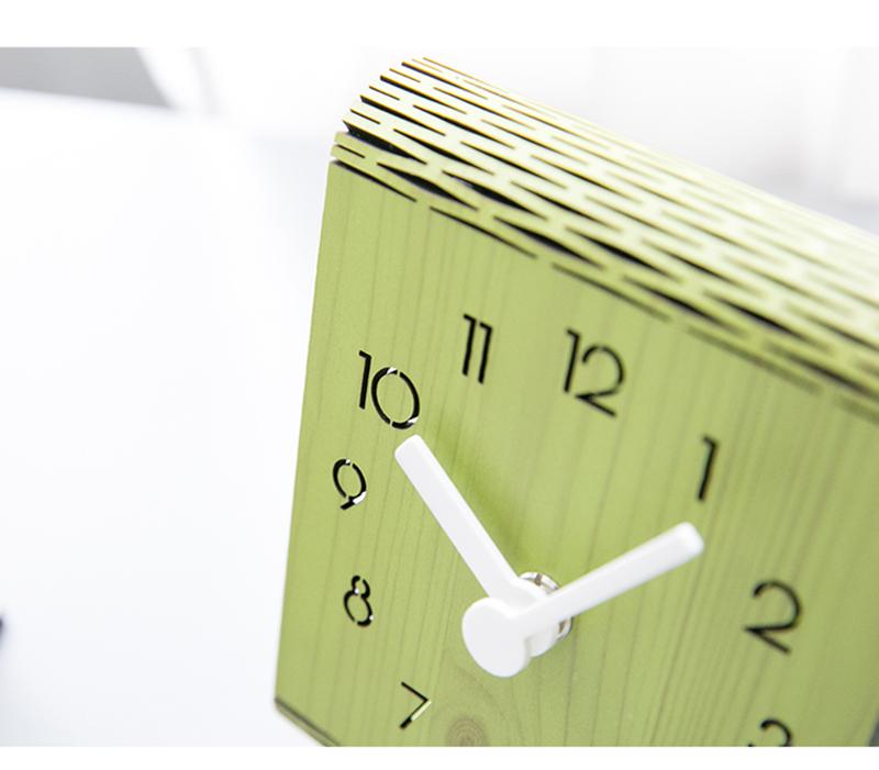 clock retro clock with time projection clock vintage automobile clock alarm clock bedroom clock clock flip watch table table clock vintage table clocks office decoration (5)