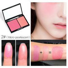 Shimmer Matte Eye Shadow Makeup Blusher Powder Face Blush Rouge Natural Cheek Contour