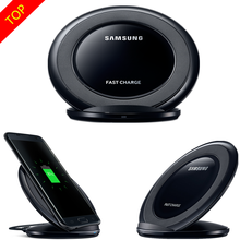 Original Samsung Fast Wireless Charger Qi Charging pad For Samsung Galaxy S7 edge / S7 / S8 / S8+/ S6 edge Plus / Note5 EP-NG930