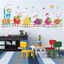 Wall Decals Vinyl Stickers Home Decor Bedroom Kitchen Wall Stickers For Kids Rooms Interior Motor Boat Wallpaper DDX295