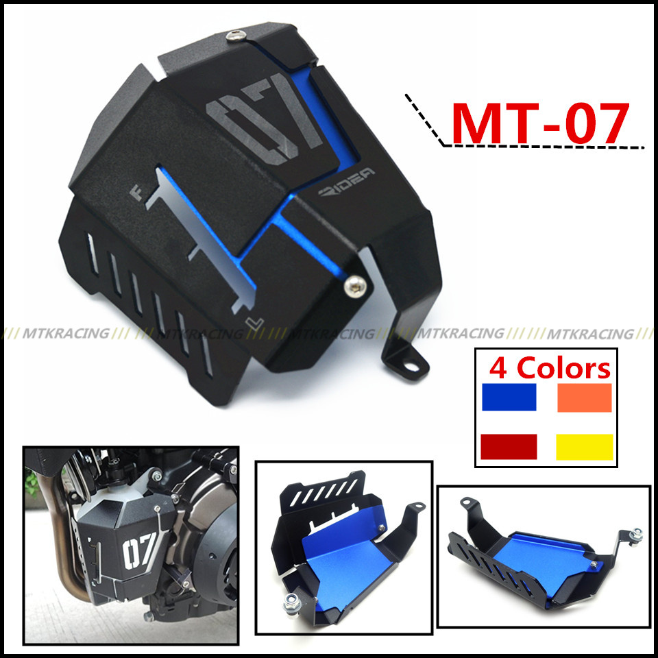 Coolant Recovery Tank Shielding Cover For Yamaha MT-07 FZ-07 MT 07 FZ 07 2014 2015 2016 2017<br>