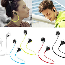 Portable Stereo Wireless Sport Headset Bluetooth Earphone for iPhone Cell Phone