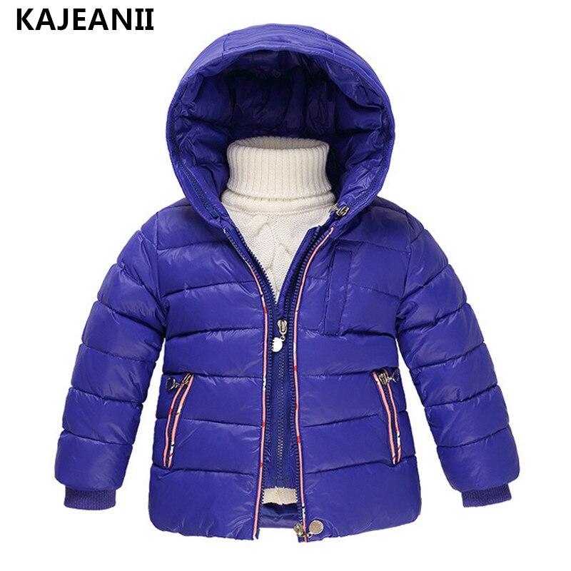 KAJEANII Childrens Girls Outerwear White Duck Down Jackets Boy Autumn Winter Coat Fashion Hooded Jacket + Vest <br>