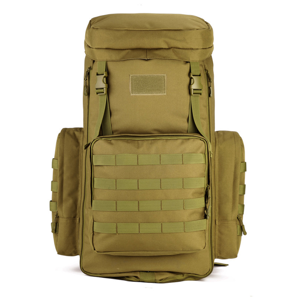 70 to 85L Large Capacity Adjustable Multifunction Military Backpack Camouflage Nylon Tactics Molle System Rucksack Men Women <br><br>Aliexpress