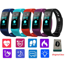 Buy H5 Smart Wristband Heart Rate monitor Blood Pressure smart band Activity Fitness tracker sport Bracelet PK Mi band 2 mi band 3 for $15.60 in AliExpress store