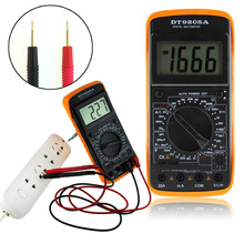 1PC AC / DC LCD Display Auto Professional Electric Handheld Tester Digital Multimeter Meter Ammeter COMS