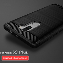 "For Xiaomi Mi5S Plus case silicone back cover ultra thin premium 5.7"" mi 5s plus coque tpu slim phone housing"