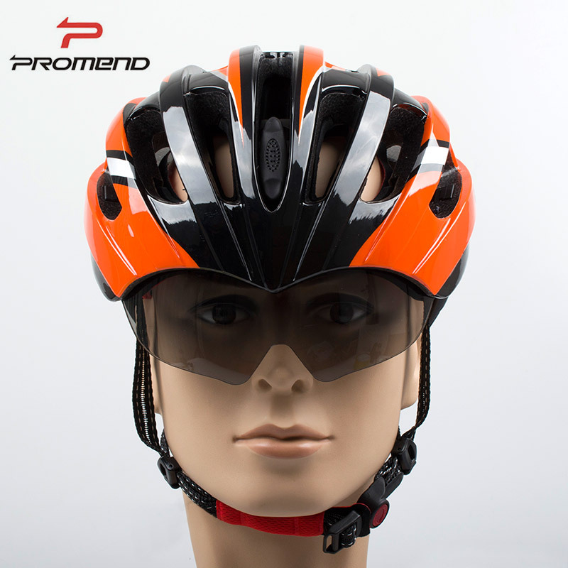 New Integrally Aerodynamic EPS Lens Cycling Helmet Ultra-Light Mountain Bike Helmet MTB Bicycle Helmet Bike Accessories 27 Vents<br>