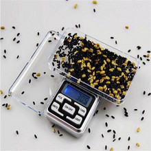 500g x 0.1g Mini Pocket Digital Scale for Gold Sterling Silver Jewelry Scales 0.1 Display Units Balance Gram Electronic Scales(China)