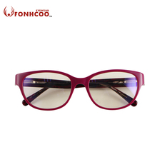 2017 FONHCOO Cat eye Professional goggles women Anti Blue ray Radiation protection Anti fatigue glasses computer gaming glasses