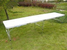White Color  Portable Folding Beer Pong Table Official Beer Pong Table
