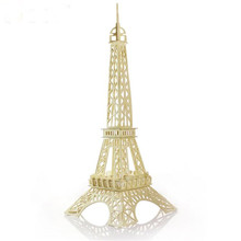 Mooistar2 #5018 Eiffel Tower 3d jigsaw puzzle toys wooden adult children's intelligence toys W244(China)