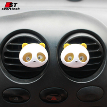 5 sets Car Styling Air Freshener Perfume 100 Original Panda Perfume Parfum Voiture Purifier Aromatizer Fragrance Solid Perfume(China)