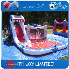 480*280*225cmH residential  baby bouncer,inflatable combo bouncers,inflatable bouncy castle with water slide