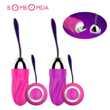 Buy Rechargeable Wireless Remote Control G-spot Vibrator Portable Wearable Vibrator Panties Vibrating Jump eggs Sex Toy Women