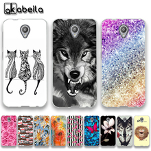AKABEILA Soft TPU Phone Cases For Vodafone Smart Prime 7 VFD600 VF600 E Smart Prime7 Covers Nutella Flamingo Tetris Silicone Bag(China)