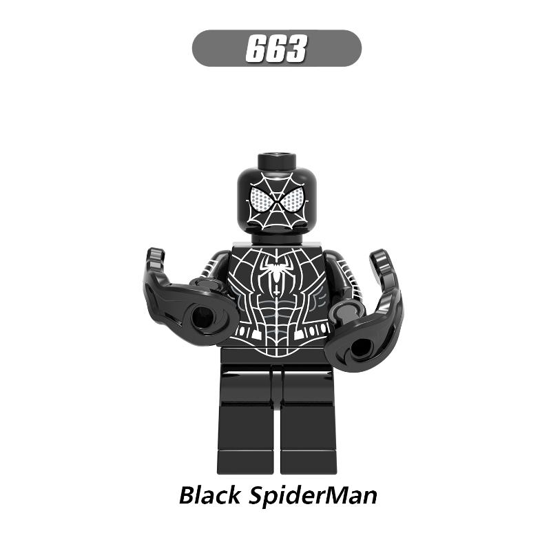 XH663-Black Spiderman
