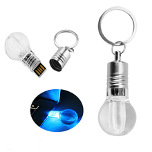 Pen Drive light bulb USB flash drive 8GB 16GB 32GB memory stick lamp pendrive mini usb 2.0 best fashion gift 16gb hard disk 64gb