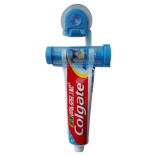 Creative Rolling Squeezer Toothpaste Dispenser Tube Partner Sucker Hanging Holde Bathroom Sets YL677564(China)