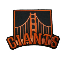 San Francisco Giants Golden Gate Bridge Logo Sleeve Alternate Jersey Patches for Clothing Iron Patch Stickers for Clothes(China)