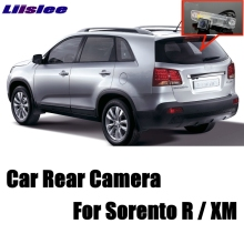 LiisLee Car Camera For KIA Sorento R For NAZA Sorento XM MK2 2007~2015 High Quality Rear View Back Up Camera CCD + RCA