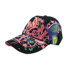 Brand new 2017 summer Embroidered Baseball Cap women Lady Fashion Shopping Cycling visor sun Hat Cap
