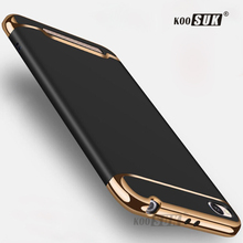 Buy Xiaomi Redmi 5A Case Coque 3 1 Gold plated Mobile Phone Protect Case Xiaomi Redmi5A 5 Back Cover Shock Proof Hard Shell for $3.99 in AliExpress store